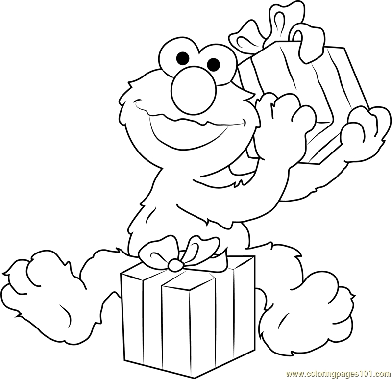 24 Elmo Coloring Pages Collections