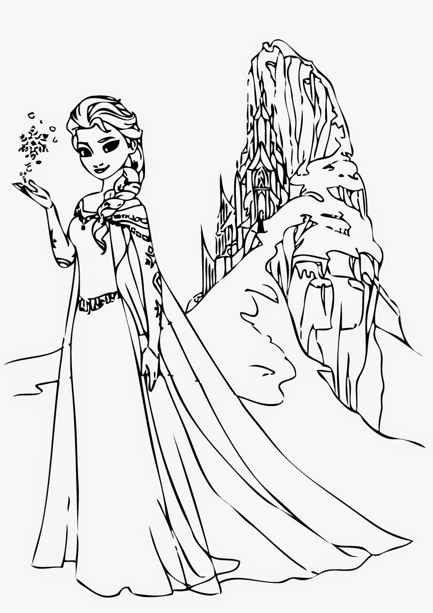 23 Elsa Coloring Pages Printable | FREE COLORING PAGES