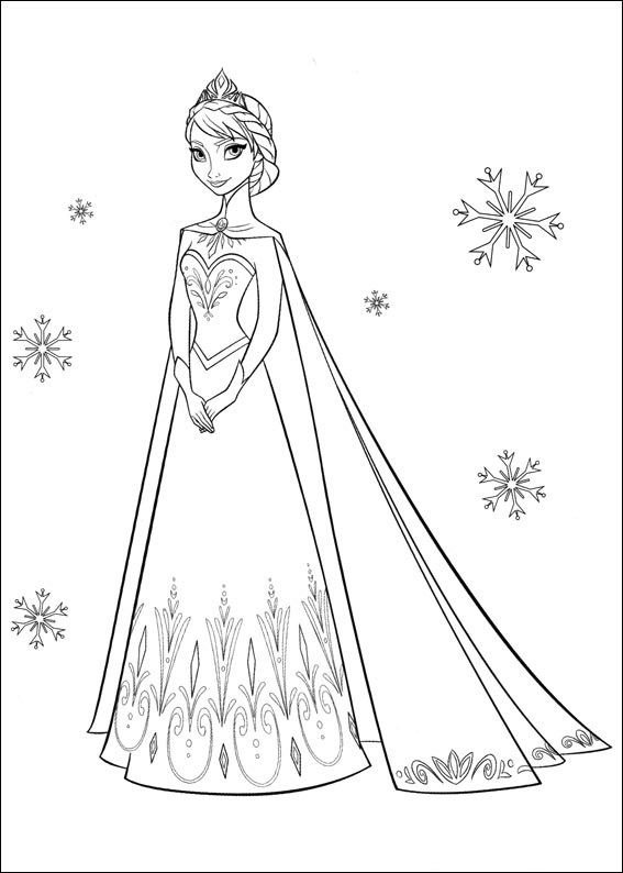 elsa coloring pages - frozen coloring pages olaf coloring pages elsa coloring pages for kids 16