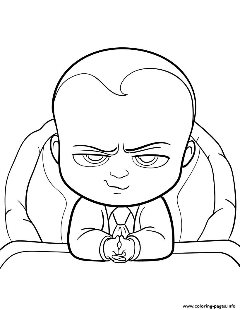 emoji printable coloring pages - boss baby movie fun printable coloring pages book