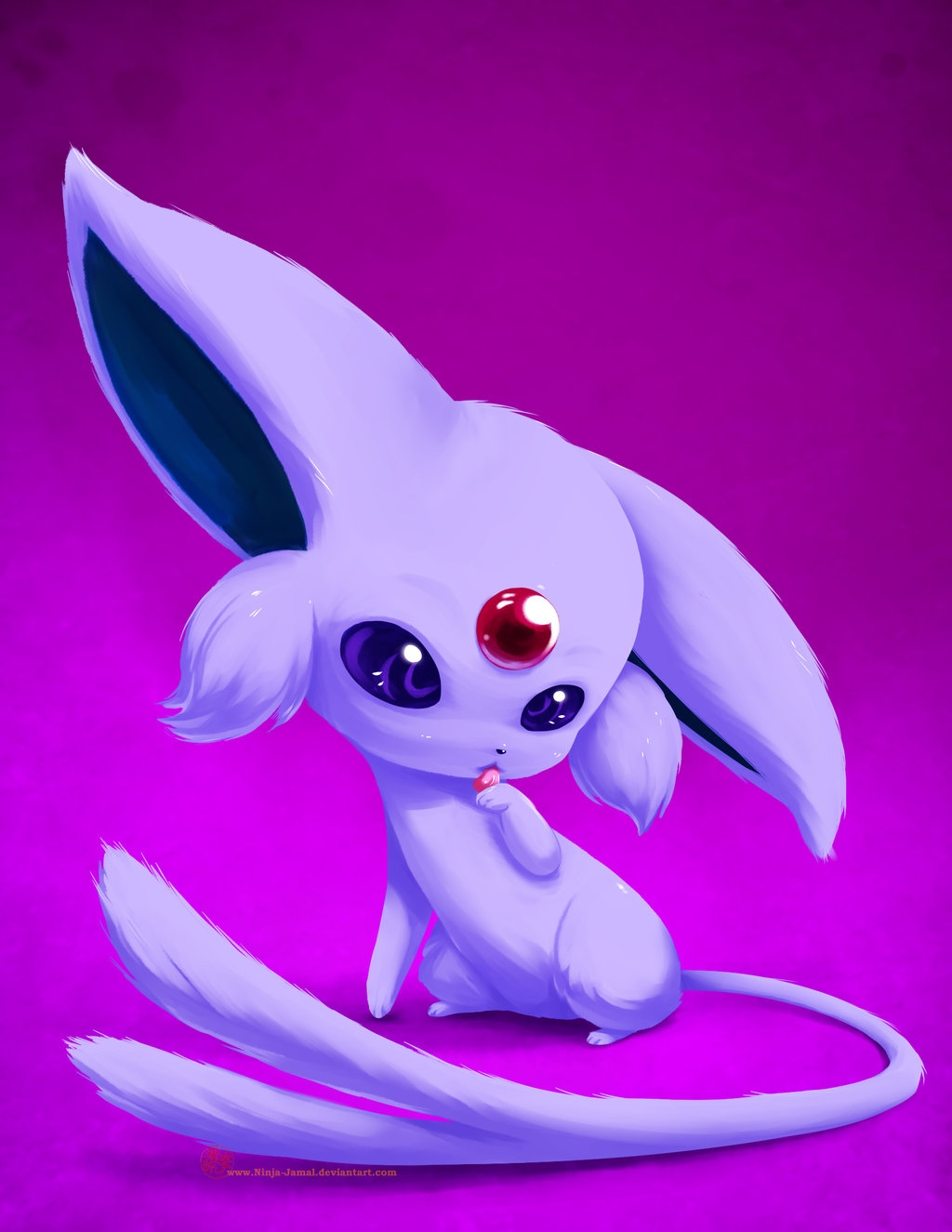 espeon coloring pages - Chibi Espeon