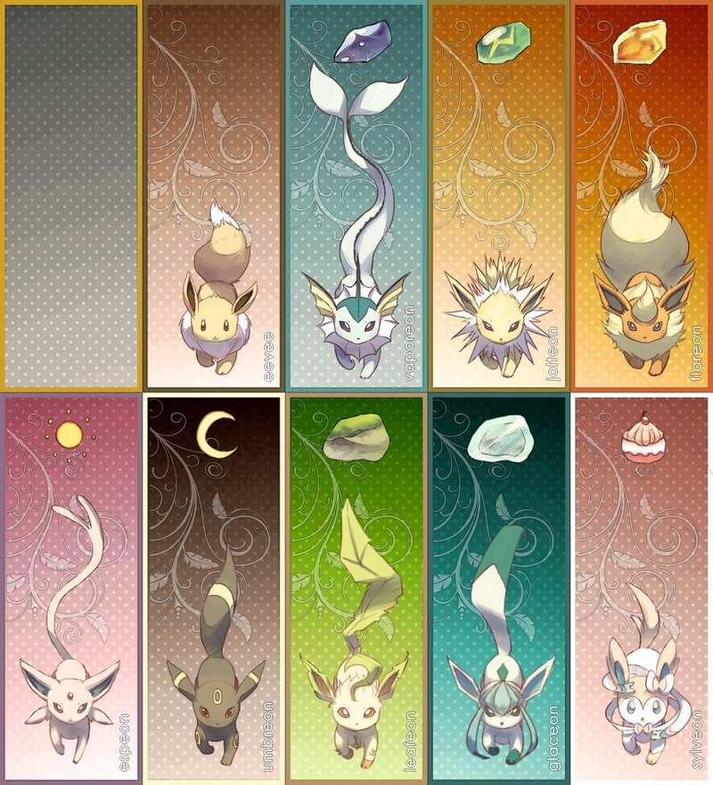 Espeon Coloring Pages - Pkmn Eeveelution Bookmarks by Veetasoy On Deviantart