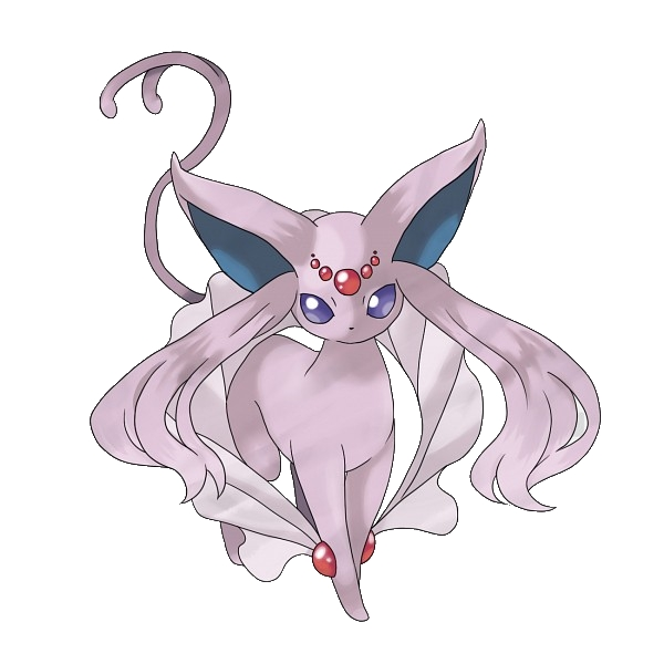 Espeon Coloring Pages - Pokemon Mega Espeon