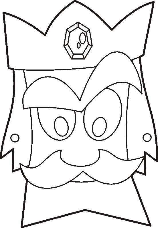 esther coloring pages - masc02