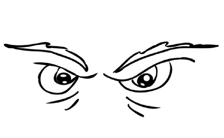 eye coloring page - 4