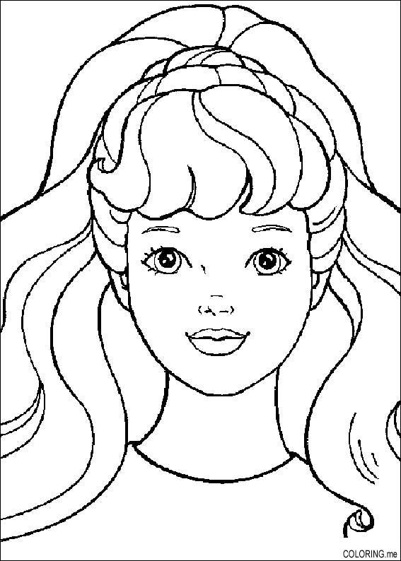 face coloring page - coloring pages id=1285