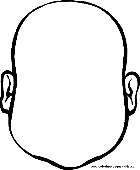 face coloring page - face coloring page 03