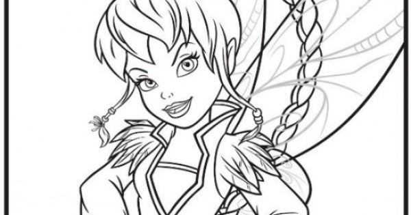 fairy coloring pages -