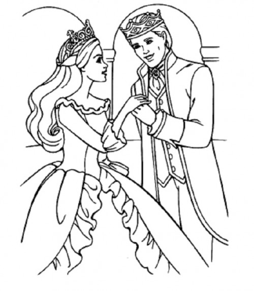 fairy princess coloring pages - 7