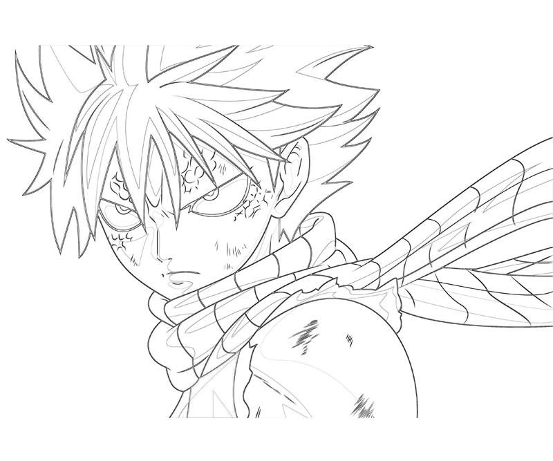 fairy tail coloring pages - fairy tail color pages