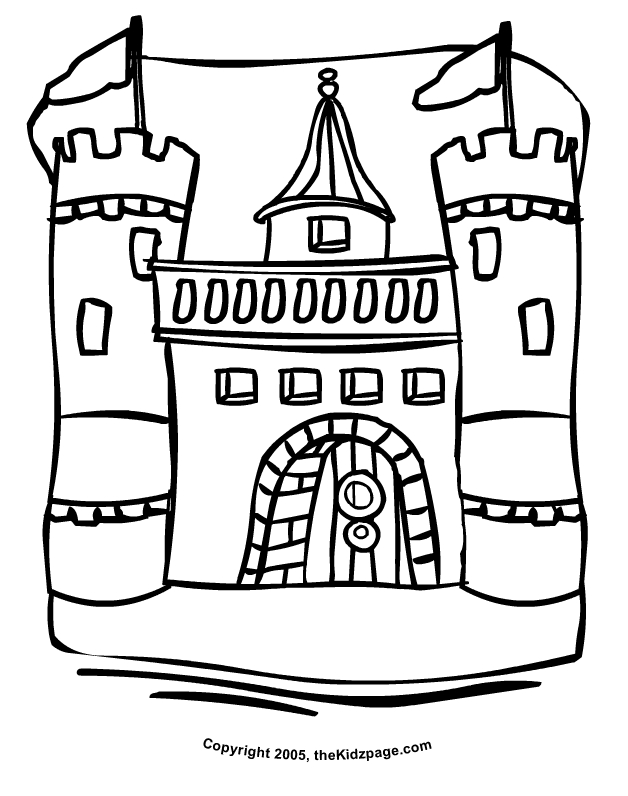 Fairy Tale Coloring Pages - Coloring Pages Castle Coloring Home