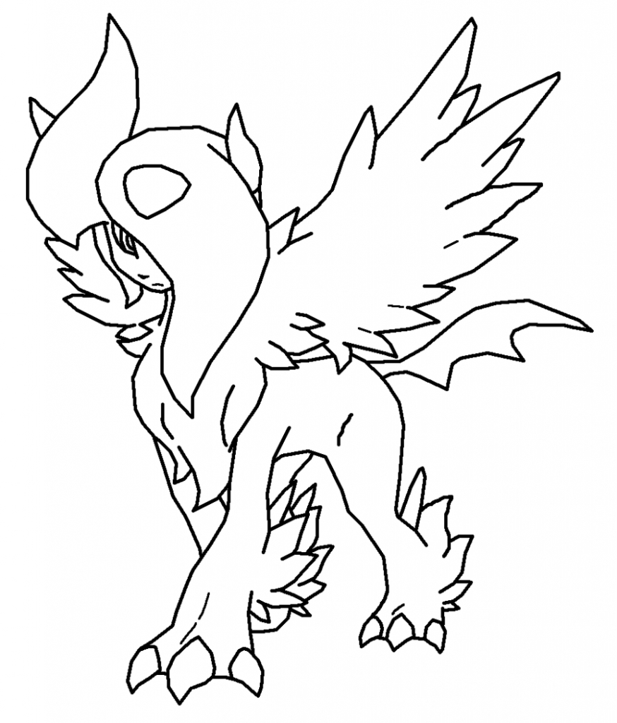 fairy tale coloring pages - pokemon coloring pages eevee evolutions