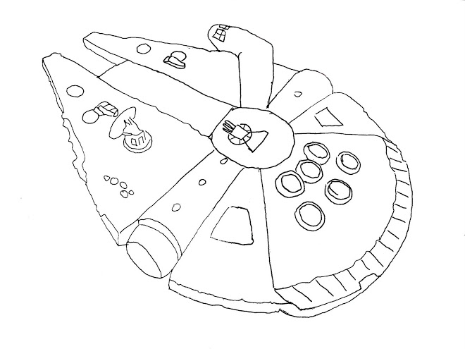 Falcon Coloring Pages - Falcon 9 Colouring Pages