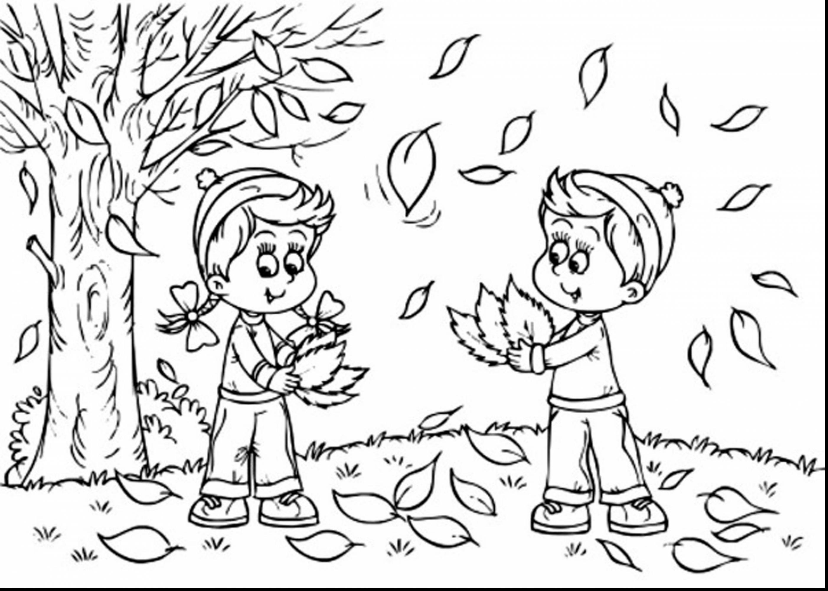 fall coloring pages - kindergarten fall coloring pages superb fall landscape coloring page with free fall coloring pages coloring pages disney