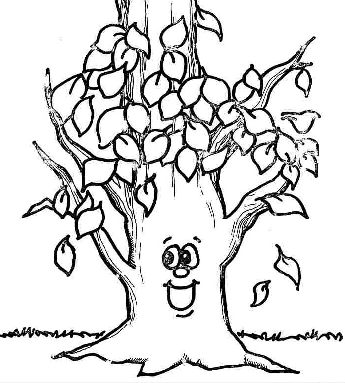 fall coloring pages - fall coloring pages 3