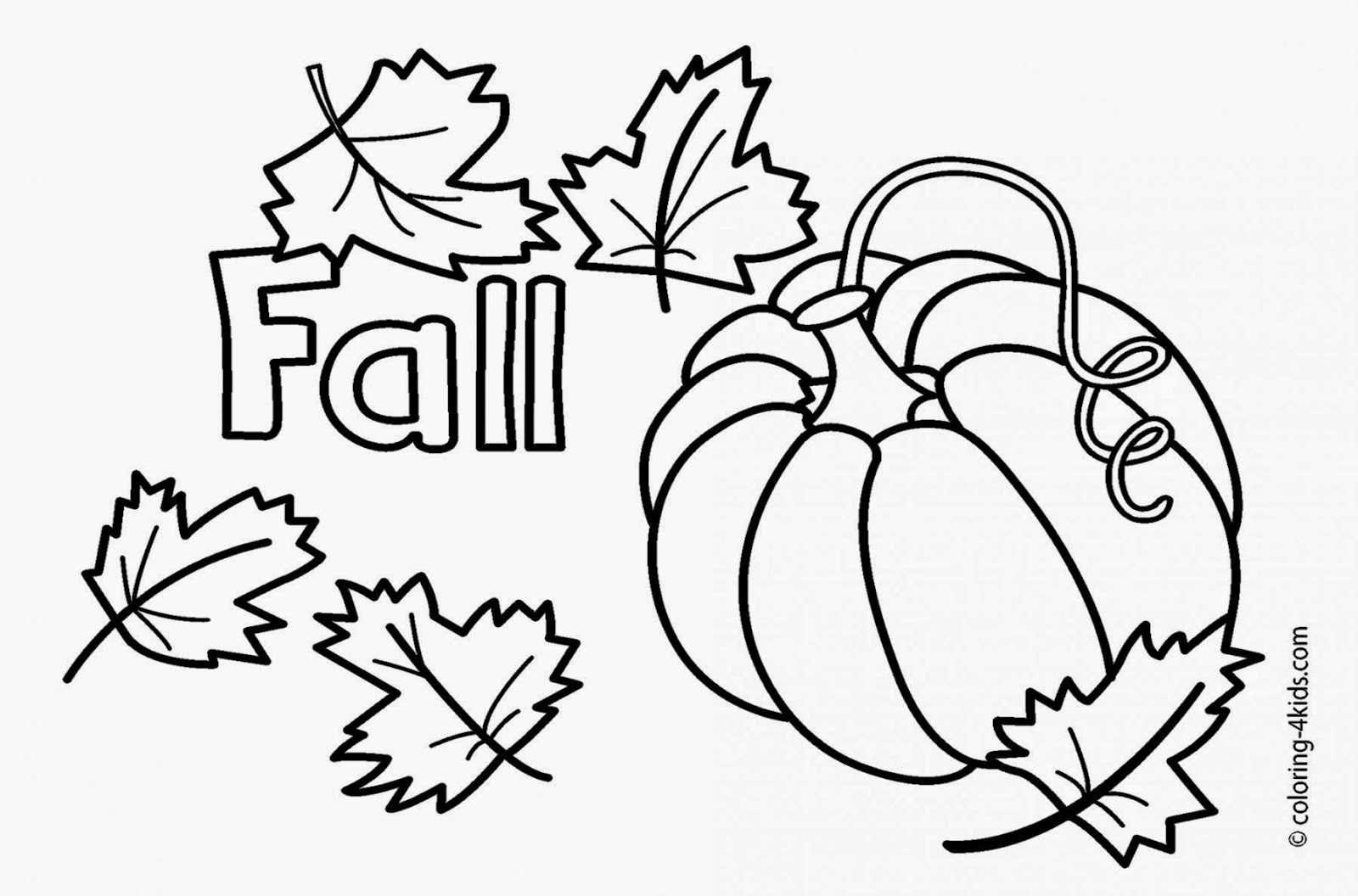 fall coloring pages - fall coloring pages pumpkin sketch templates