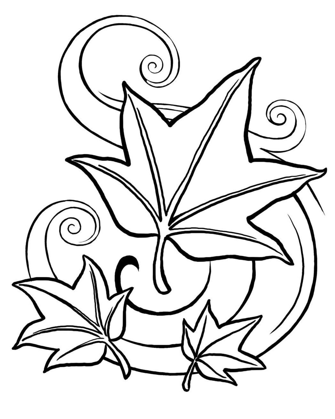 fall coloring pages - fall coloring pages