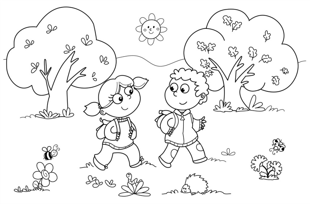 fall coloring pages for preschoolers - preschool coloring pages 12