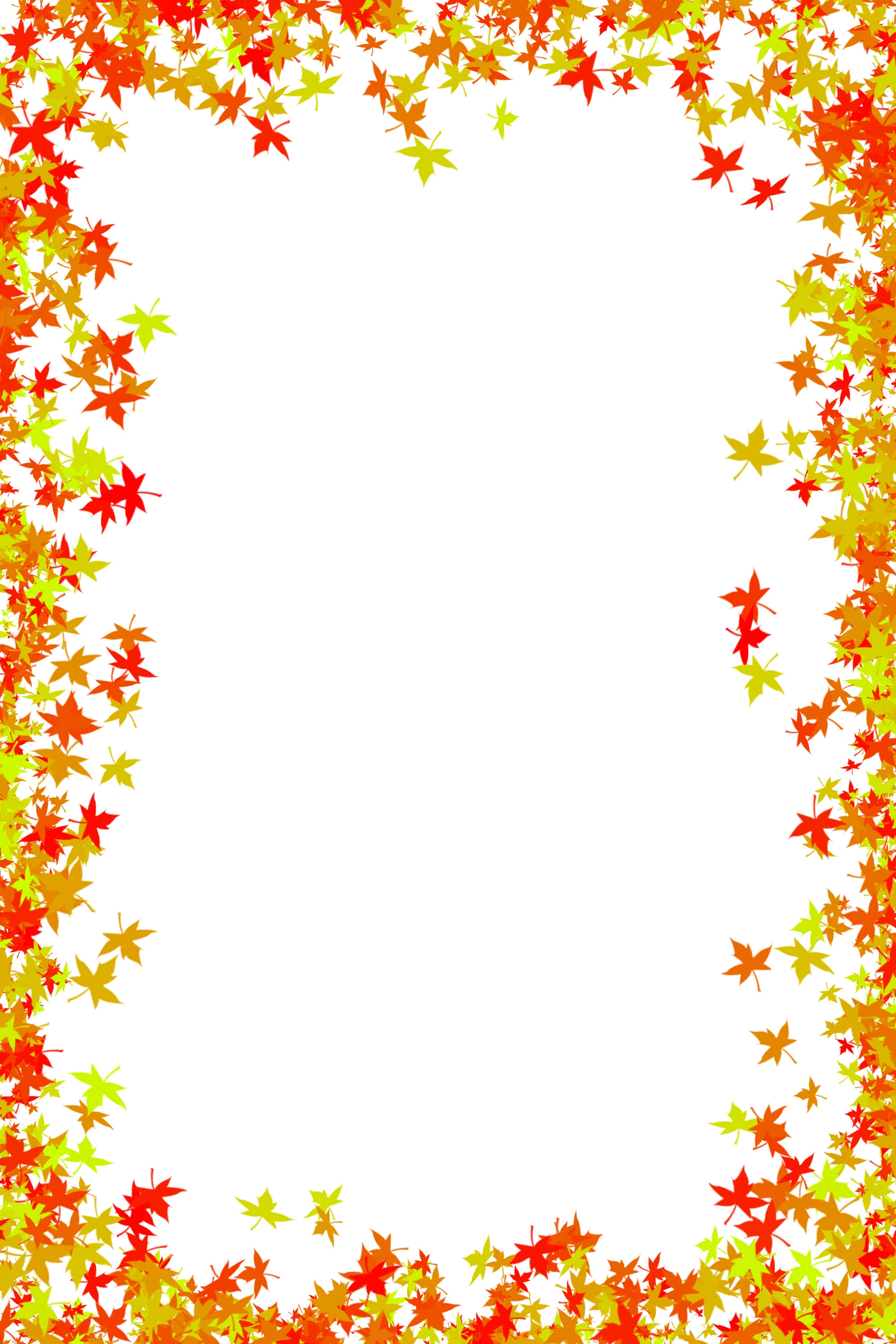 fall leaves coloring pages - post page boarders vector color swirl