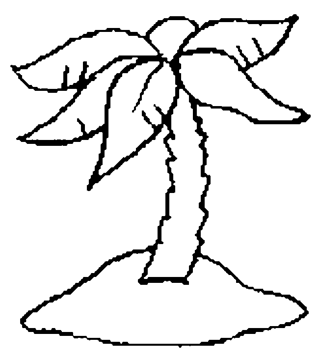 fall leaves coloring pages - tree coloring pages