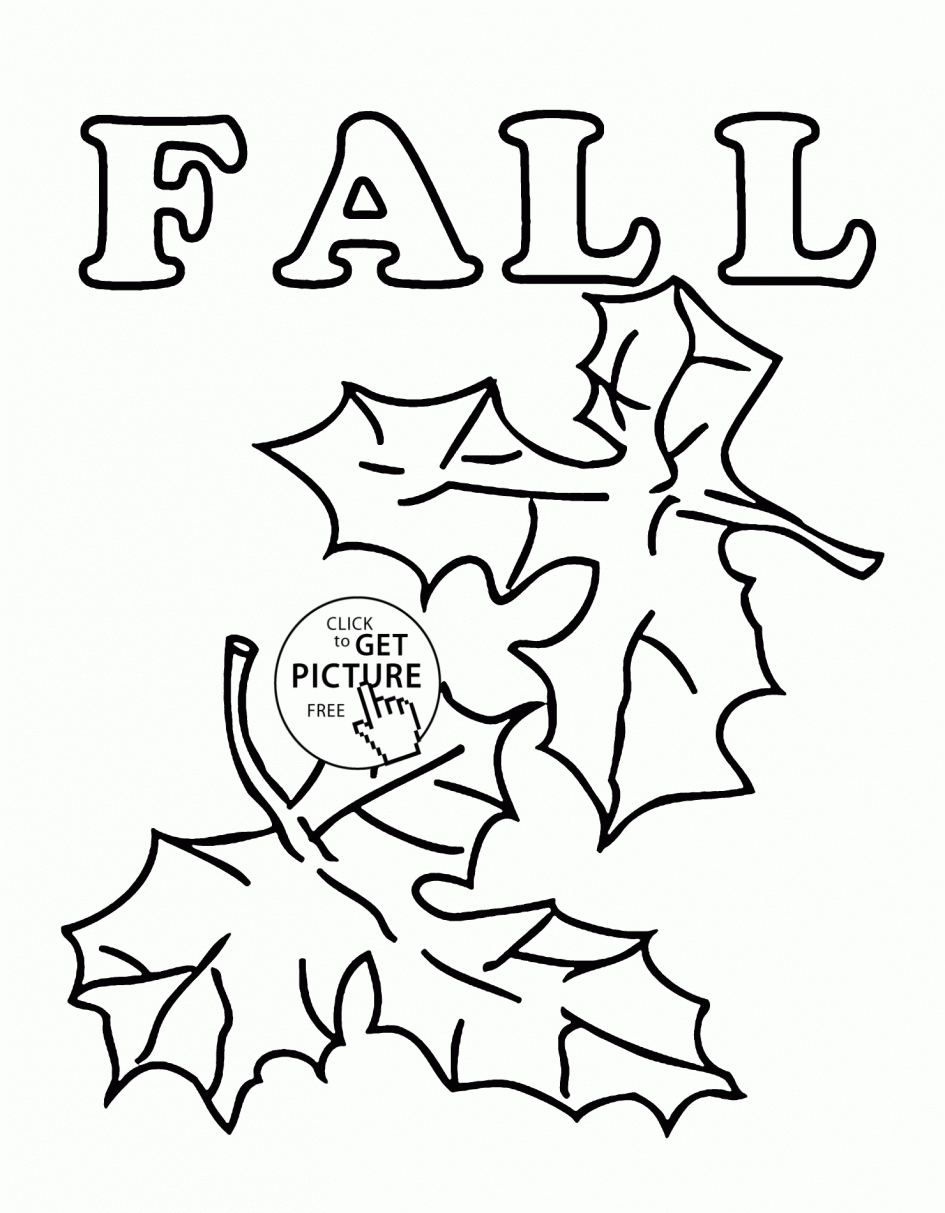 23 Fall Leaves Coloring Pages Printable Pictures | FREE COLORING ...