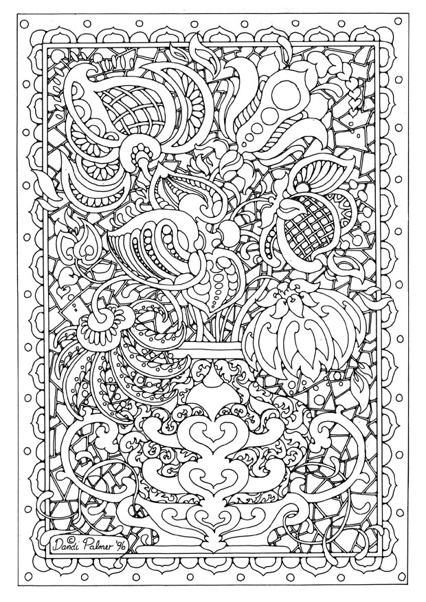 fancy coloring pages - fancy detailed color pages 75 with additional coloring pages for kids online with detailed color pages
