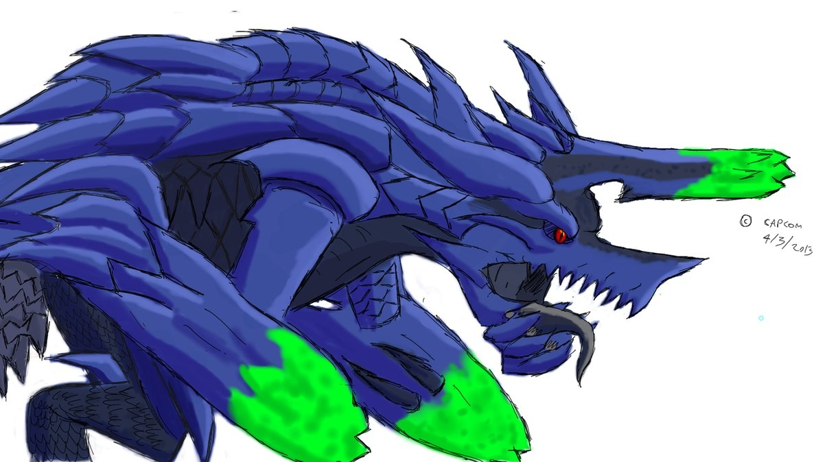 Fancy Coloring Pages - Mh Paintchat Brachydios by Daowg On Deviantart