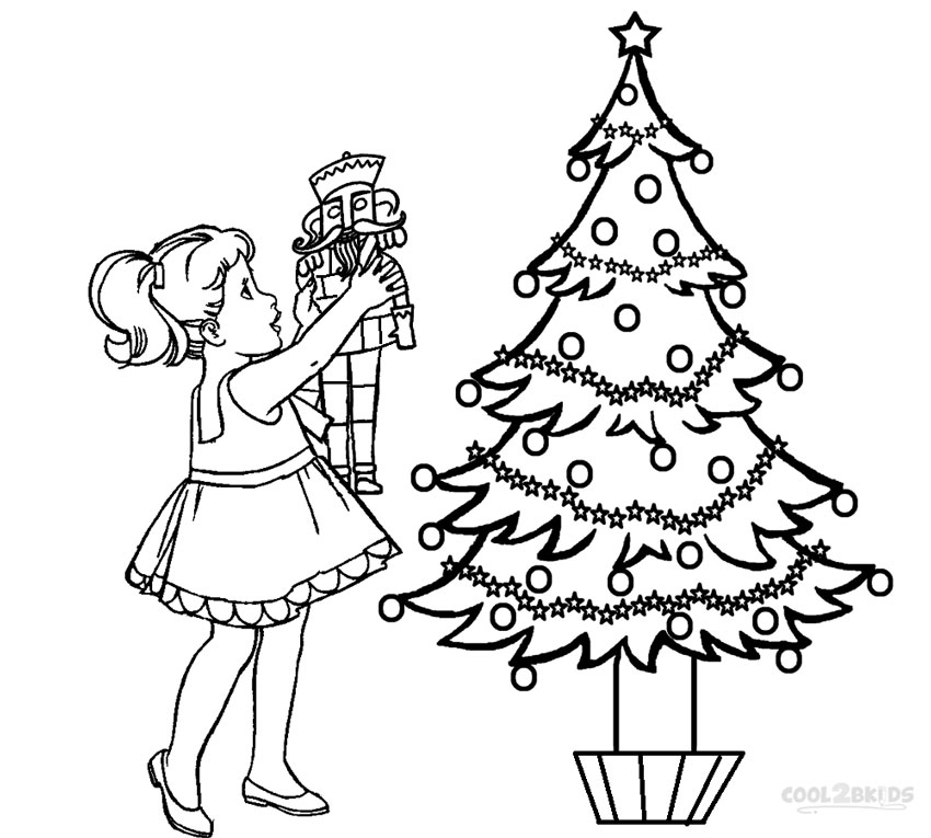 fancy coloring pages - nutcracker coloring pages