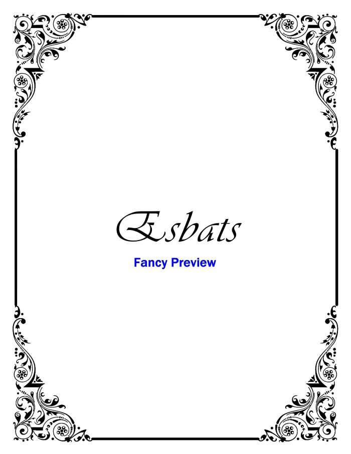 fancy coloring pages - printable book shadows bos divider pages stationery