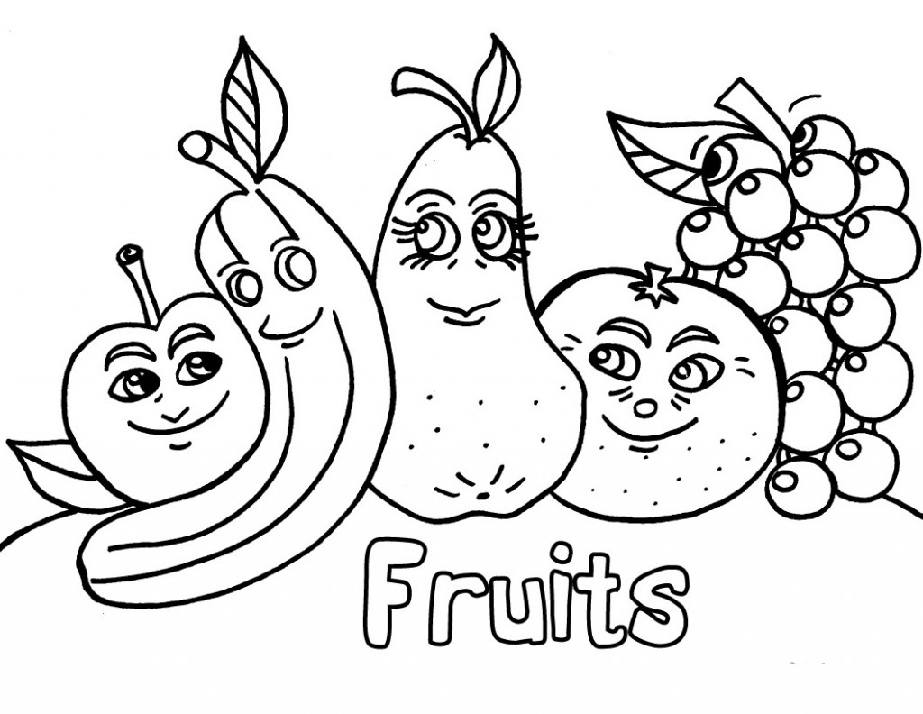 father's day printable coloring pages - printable fruit coloring pages