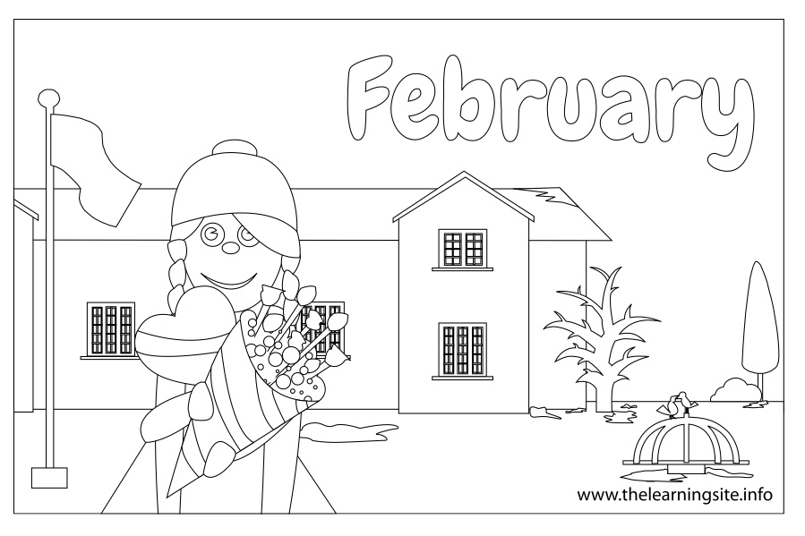 february coloring pages - july month coloring pages printable sketch templates