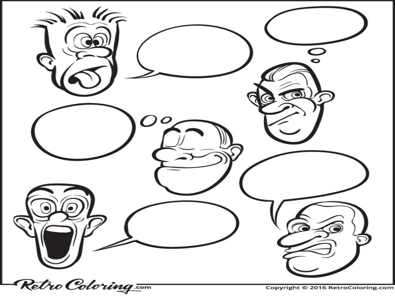 feelings coloring pages - feeling faces this is great for little ones that have a hard time