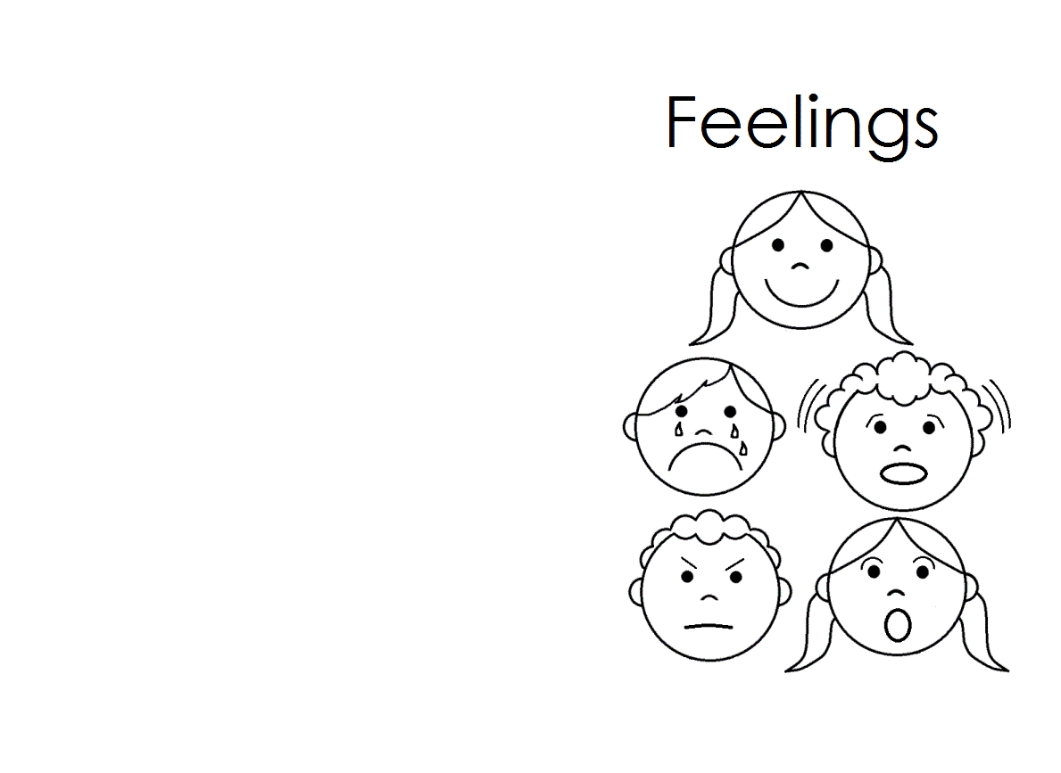 feelings coloring pages - feelings coloring pages for kids