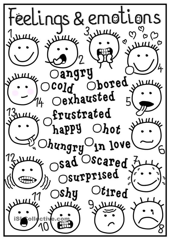 feelings coloring pages - feelings thoughts behavior coloring pages sketch templates