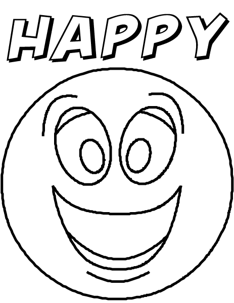 feelings coloring pages - color