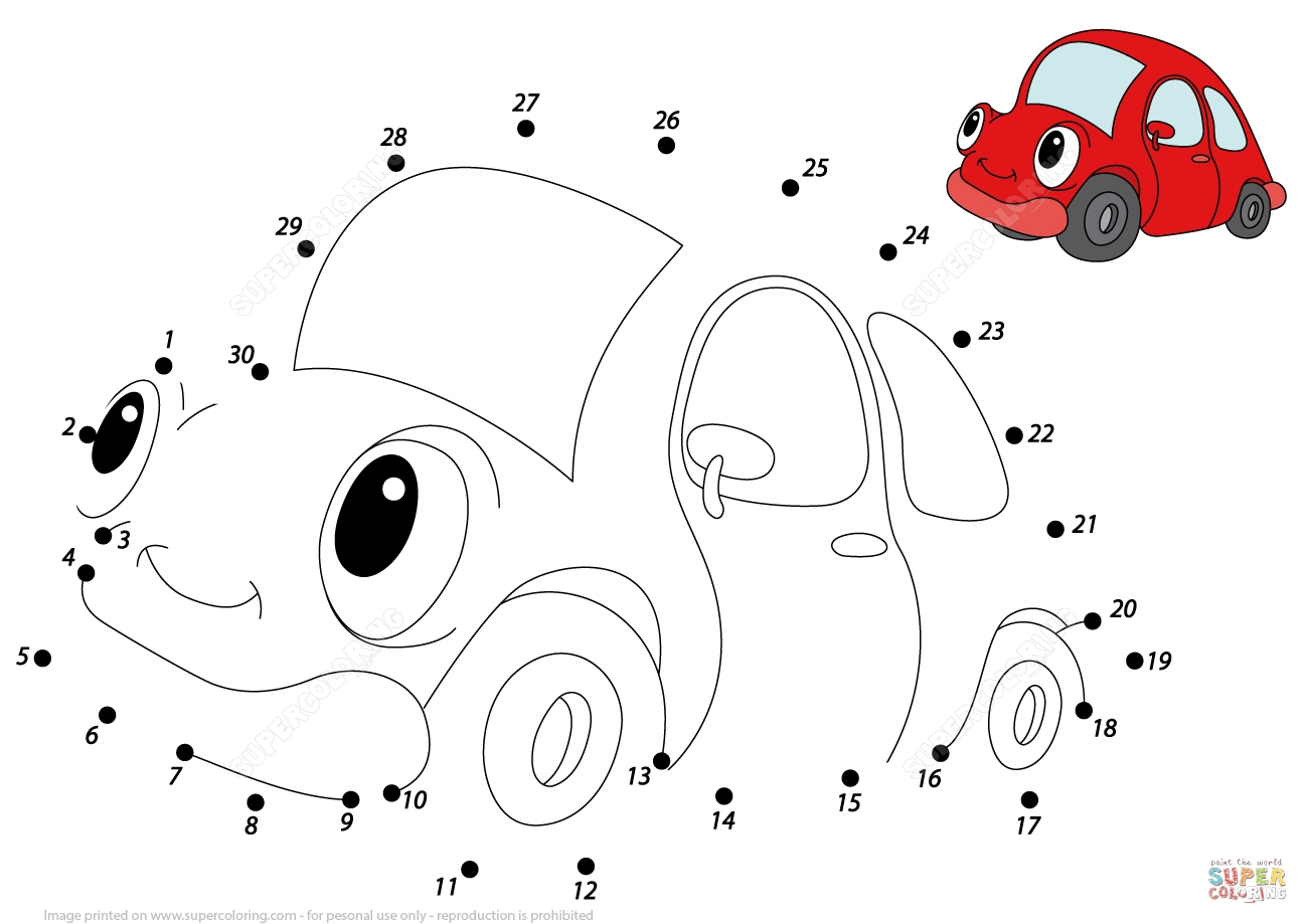 ferrari coloring pages - red car