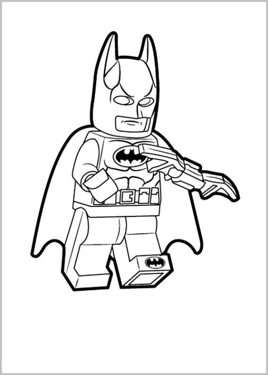 fidget spinner coloring page - the lego movie 20