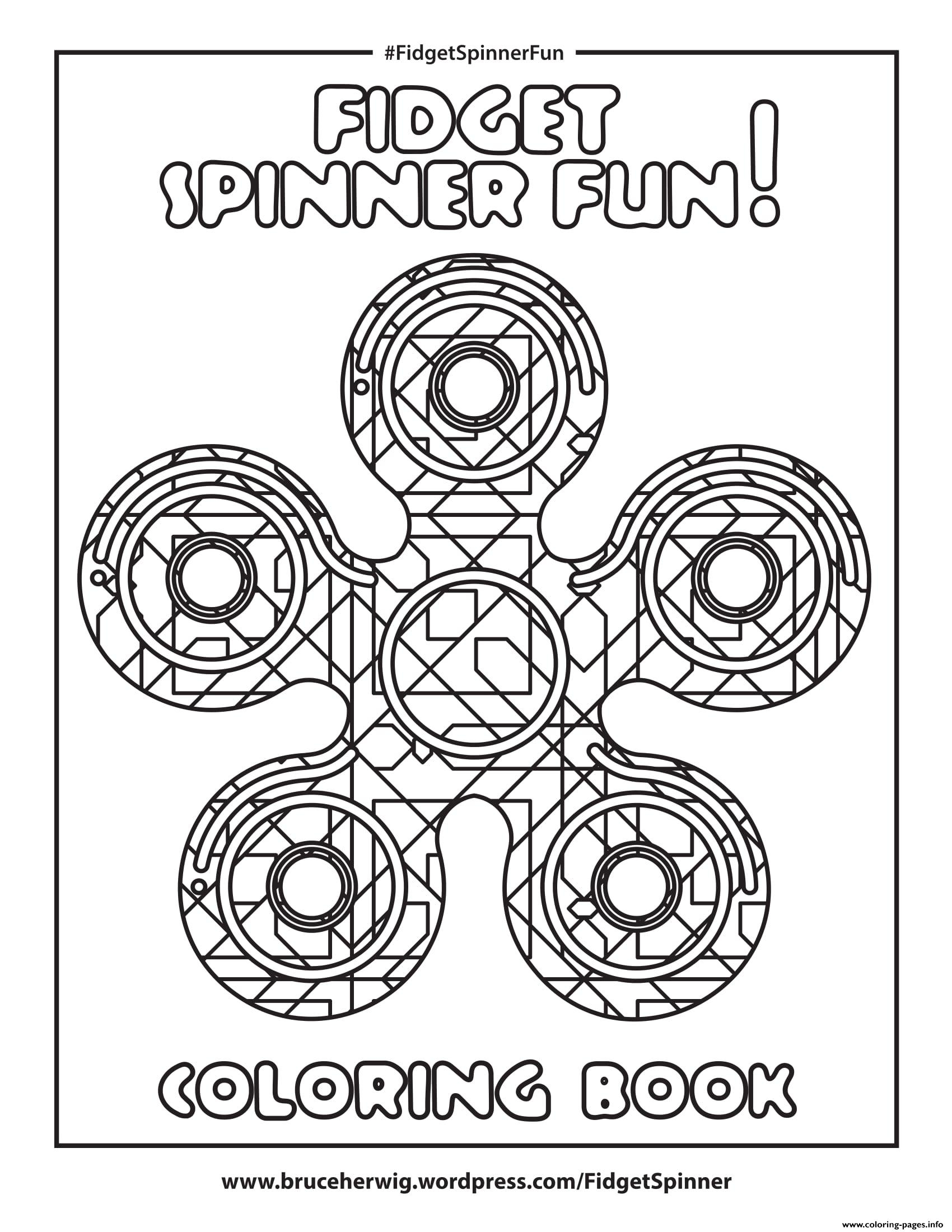 fidget spinner coloring pages - fid spinner fun round mandala zen printable coloring pages book