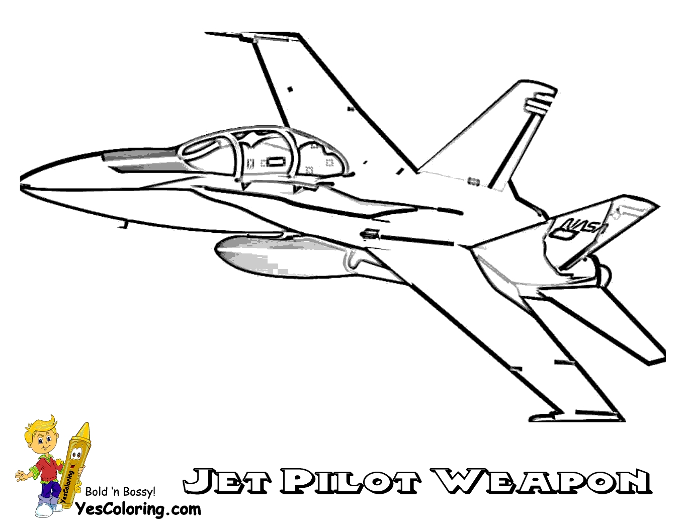 fighter jet coloring pages - jet planes coloring