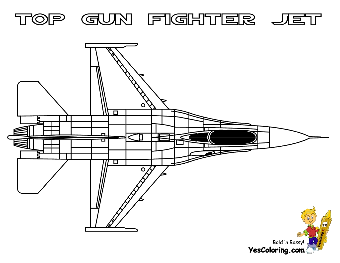 fighter jet coloring pages - fighter jets