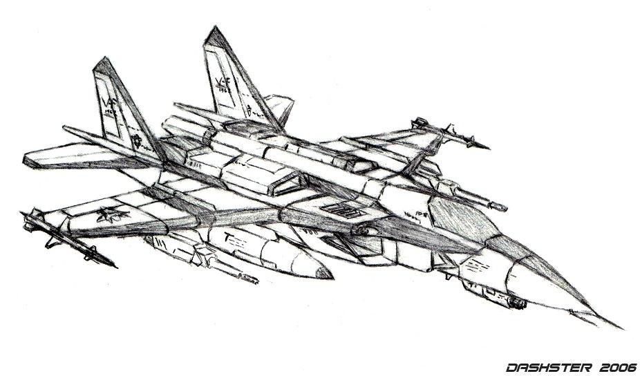 fighter jet coloring pages - Mix of fighter jets