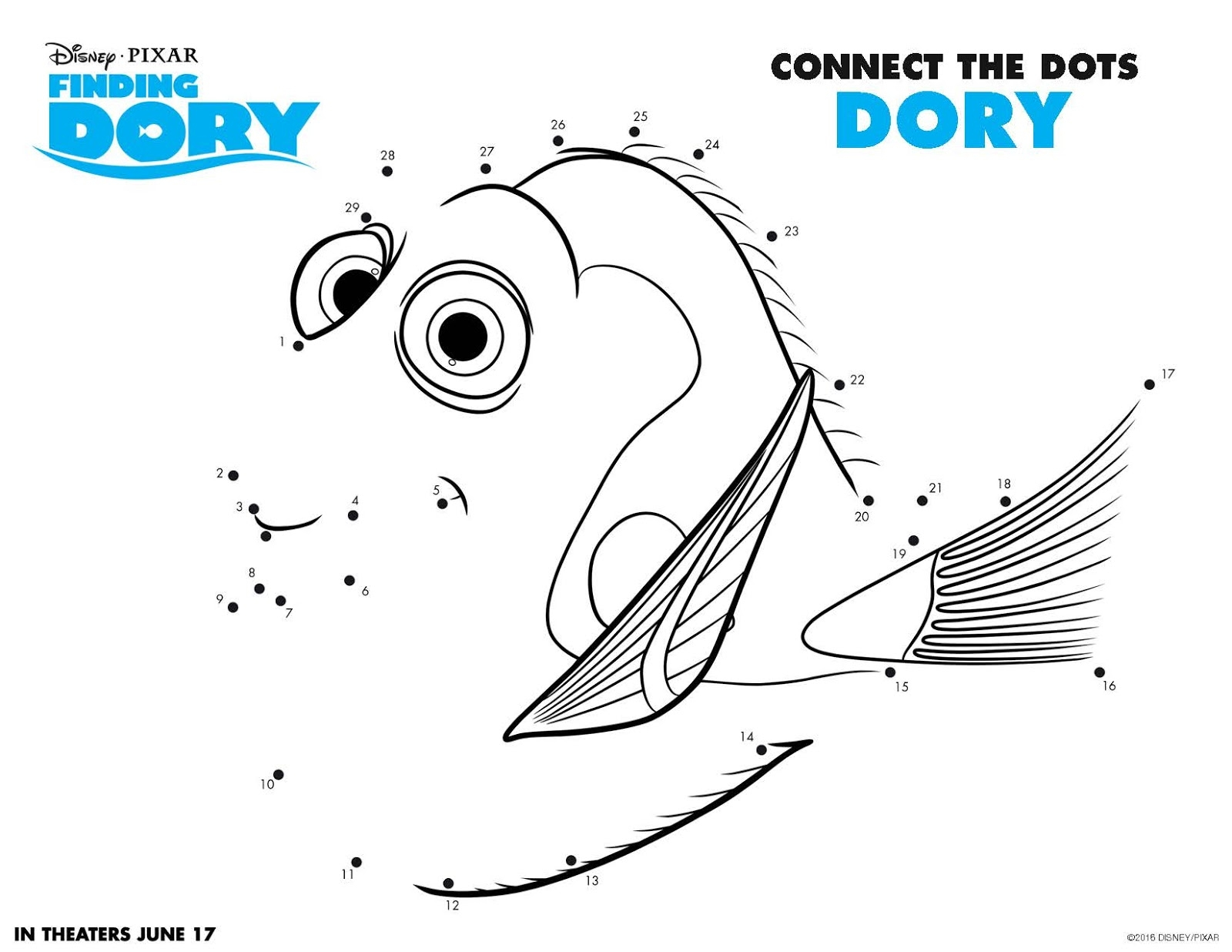 finding dory coloring pages - finding dory printable coloring pages sketch templates