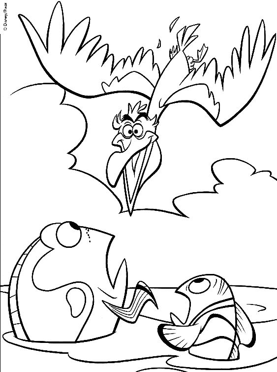 finding nemo coloring pages - coloriage Nemo 0