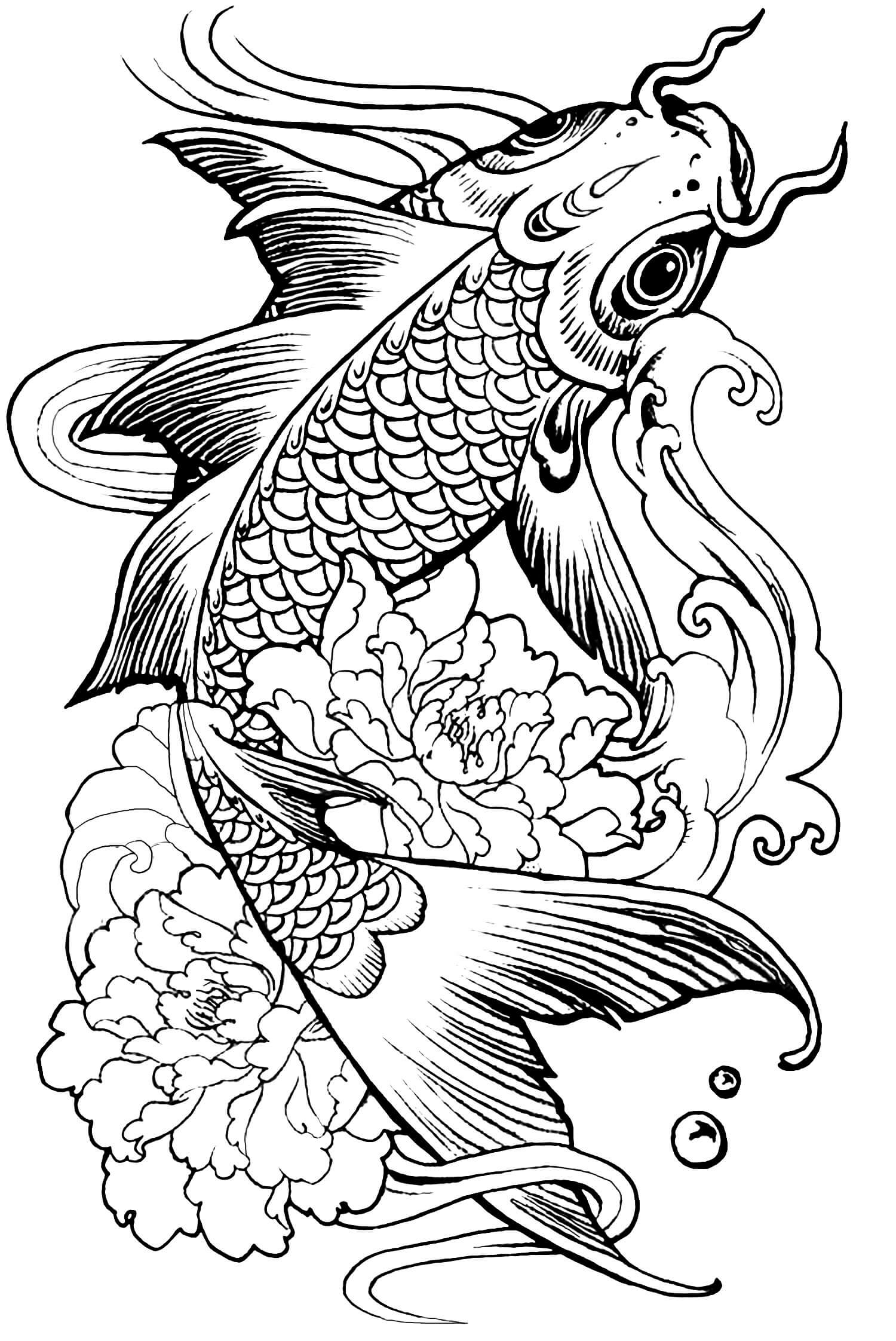 Finished Coloring Pages for Adults - Coloring Pages for Adults Difficult Animals 35
