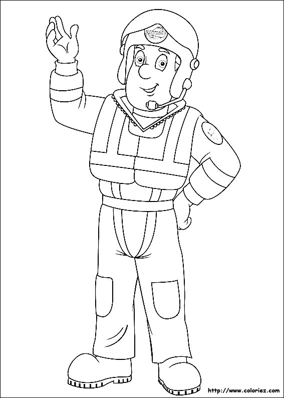 fire coloring pages - 7