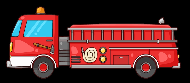 fire truck coloring page - ecfe fire trucks