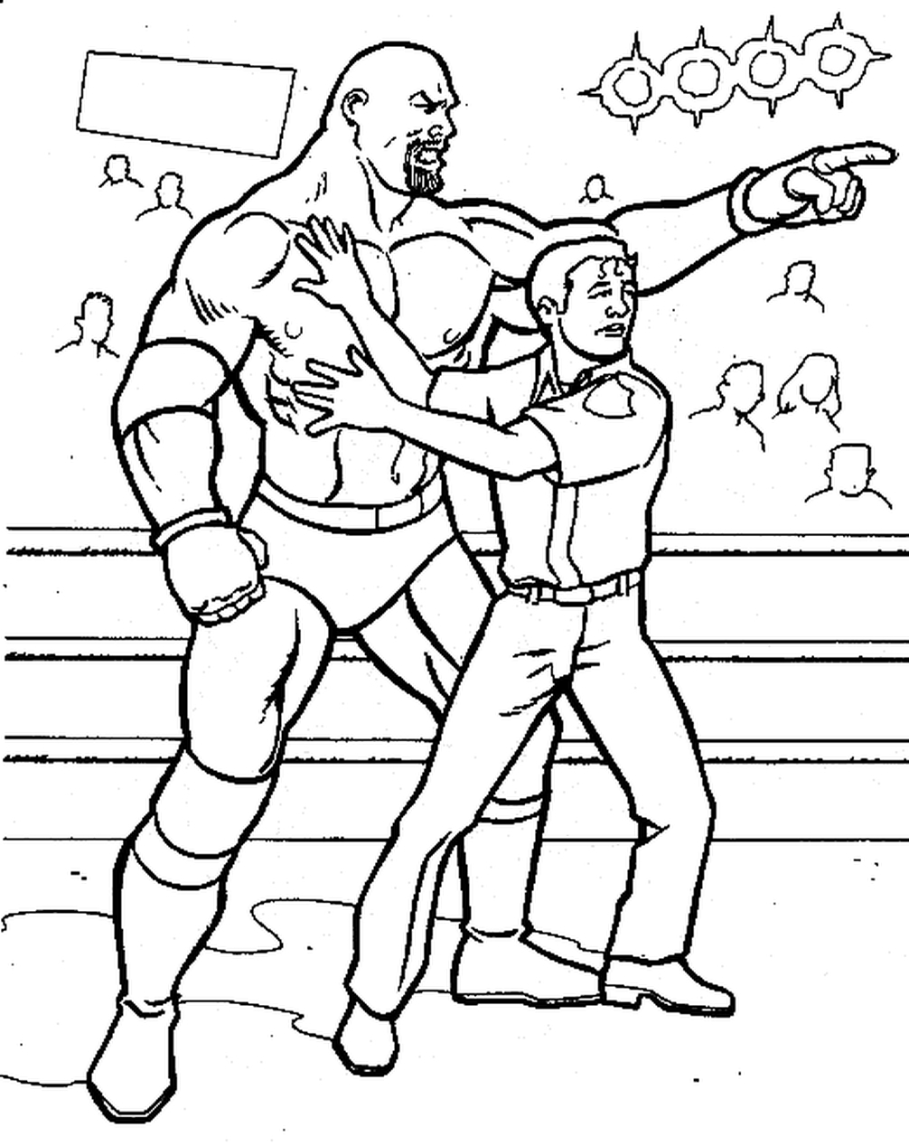 fire truck coloring page - printable wwe coloring pages goldberg