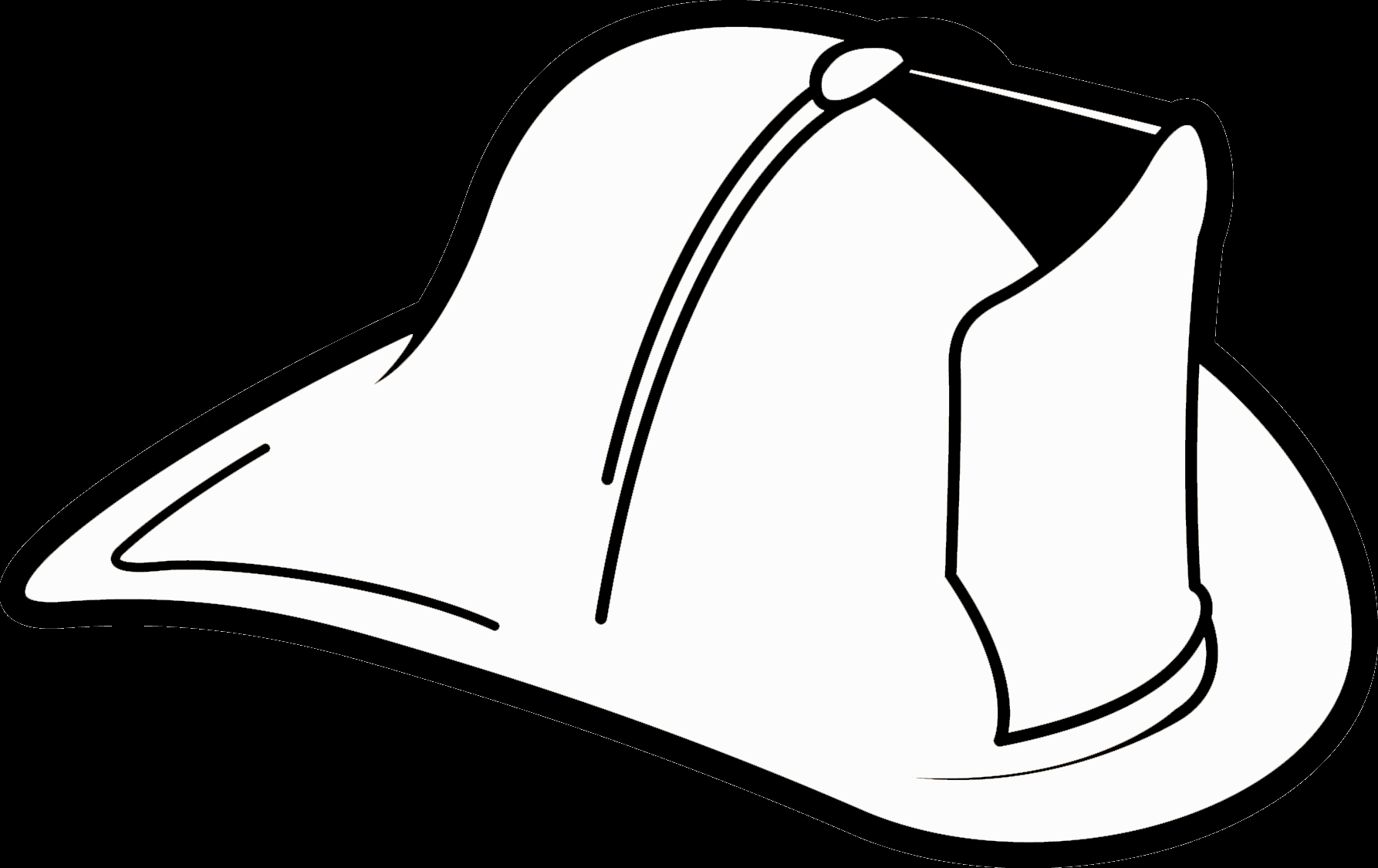Firefighter Coloring Page - Firefighter Hat Coloring Page Coloring Home
