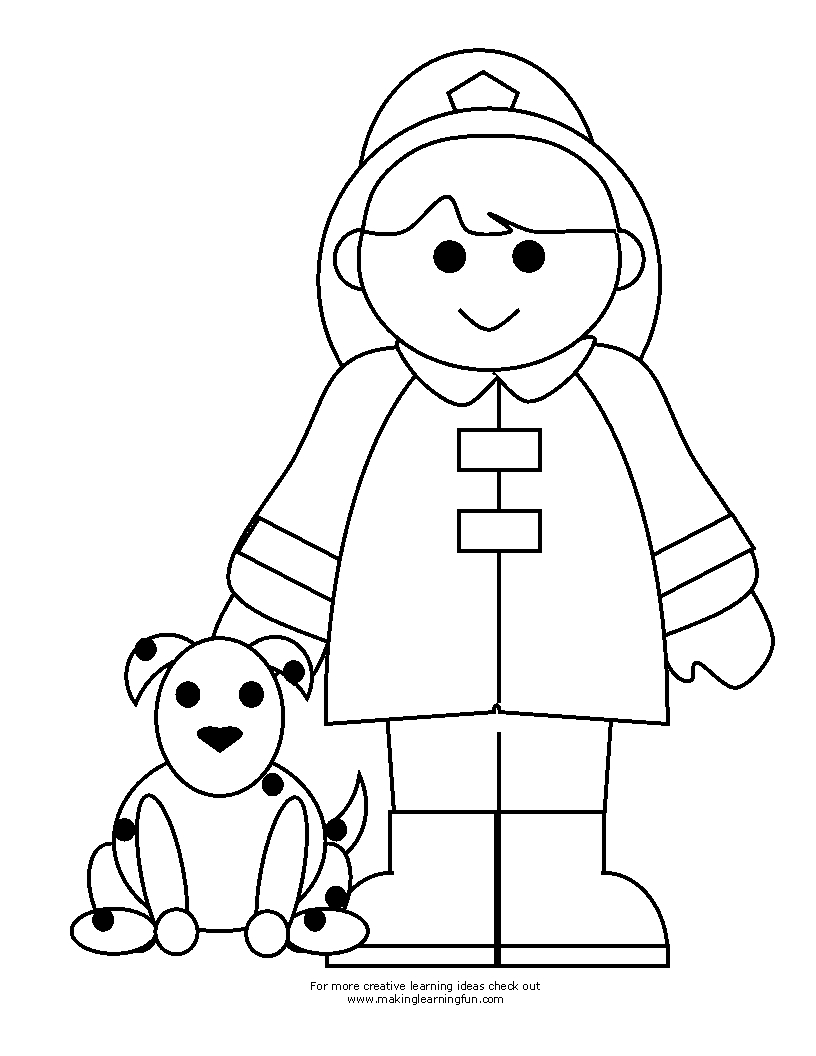 fireman coloring pages - q=fireman