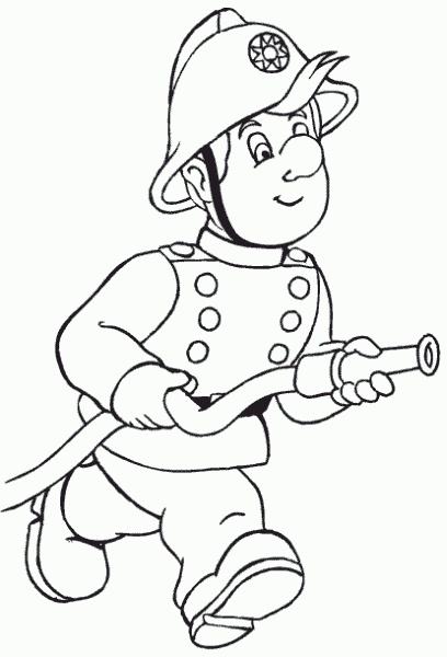 Fireman Sam Coloring Pages - Fireman Sam Coloring Pages Coloringpagesabc